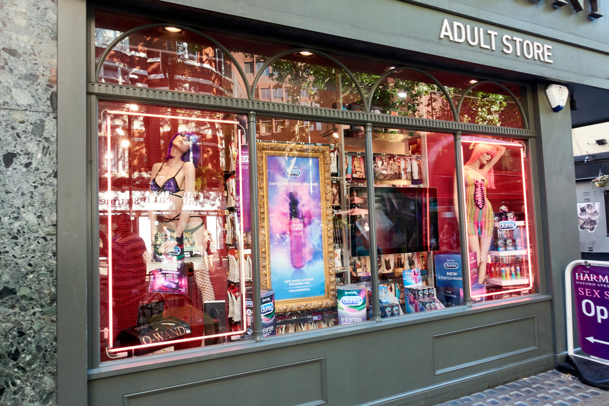 Square abuzz with entry of good vibrations sex shop