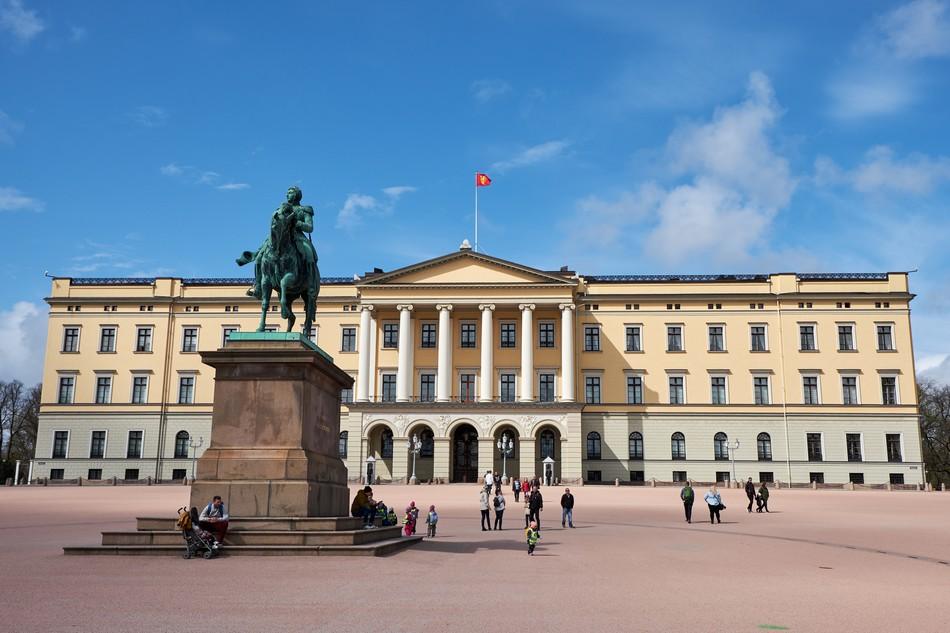 Oslo Korolevskij Dvorec Gamle Aker Vigeland Holmenkollen Muzej